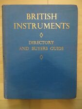 1959 Directory and buyers guide to British Scientfic Instruments - hardback