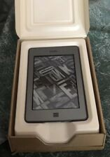 """KINDLE TOUCH, USED, 6"""" E INK DISPLAY WITH CASE, SCREEN PROTECTOR & CORDS BUNDLE"""