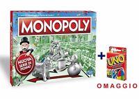 MONOPOLY CLASSICO - IN OMAGGIO CARTE DA GIOCO UNO - GIOCHI DI SOCIETA'