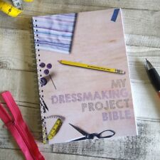 Dressmaking Project Bible - notebook to record/log/write upto 50 patterns