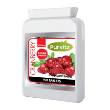 Cranberry Juice 5000mg 150 Tablets Cystitis Health Supplement Urinary Bladder