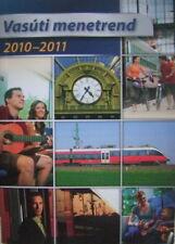 Fahrpläne Ungarn, Vasuti menetren, gültig 2010 - 2011, gebraucht, Topzustand
