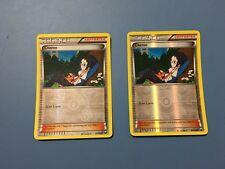 Pokemon Card x2 Reverse Holo Cheren 91/108 Dark Explorers Free Shipping