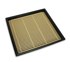 Japanese Lacquer Buckwheat Soba Noodle Tray, 19.5cm. Removable strainer insert.