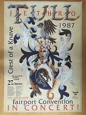 JETHRO TULL 1987 FRANKFURT  -  orig.Konzert Concert Poster  A1