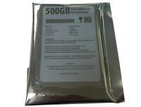 """New 500GB 5400RPM 2.5"""" SATA 6.0Gb/s Laptop Hard Drive (PS3 Fat,PS3 Slim,PS4 HDD)"""