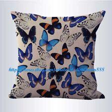 US SELLER- decorative sofa pillows retro boho butterfly cushion cover