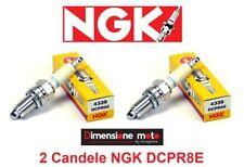 2 Candele d'accensione NGK DCPR8E per DUCATI Monster 695 dal 2006 >2008
