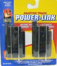 Power Loc Track Adapter Life-Like HO Scale Model Railroad Trains 433-21314