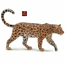 More details for african leopard african wildlife toy model figure by collecta 88866 brand new