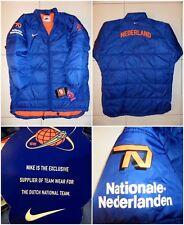 Nike OLANDA 1998 Mondiali di calcio Player Issue Cappotto Giacca Calcio Vintage Retrò