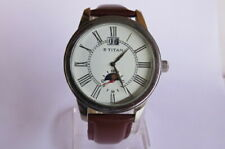 TITAN Automatic Watch for Men with Skelton Back Mint Condition Model No.9273SAA