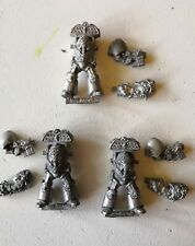 WH40K Rogue Trader Metal Space Marine Terminator X 3 Cyclone Missle Launcher OOP