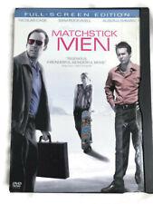 Matchstick Men (Dvd, 2004, Full Screen Edition)