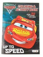 Disney Pixar Cars Up to Speed Coloring & Activity Book Over 30 Stickers Included