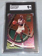 93-94 Michael Jordan Fleer Ultra Power in the Key SGC 9 Mint