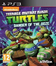 PS3 Spiel  Teenage Mutant Ninja Turtles - Die Gefahr des Ooze-Schleims  NEU