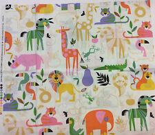 Zoo Bisou by Alexander Henry - Half Metre 100% cotton - 50 x 110 cms