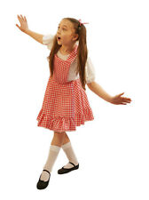 World Book Day-Dance wear-Girls-GINGHAM PINAFORE DRESS All Ages/Colours