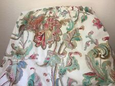 Ralph Lauren ANTIGUA FLORAL King Bedskirt Used And In Excellent Shape