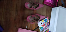 High Heels Size 11 j.renee pink looking color with pionter slipp fron the back