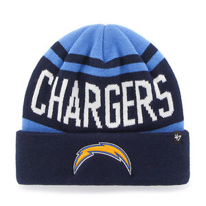 San Diego Chargers 47 Brand Knit Hat Beanie Rift Cuff