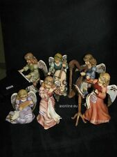 +# A017052 Goebel Archiv Prototyp Set Gloria Engel Kapelle Musikgruppe 6 Figuren