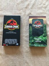 Lot Of 2 Vhs Movies action. Jurassic Park & The Lost World