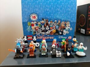 - Retired Factory Sealed Box!60 Figures Lego Disney Minifigures Series 2 71024