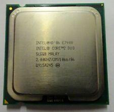 Intel Core 2 Duo E7400 - SLGQ8 - 2,80 GHz - Sockel 775 - MALAY #40