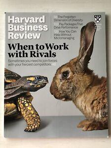 **Harvard Business Review Magazine January/February 2021 - Used VGC**