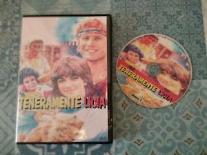"""DVD SET-BOX SERIE TV FUORI CATALOGO """"TENERAMENTE LICIA""""  C,D'AVENA 4 DVD 1987"""