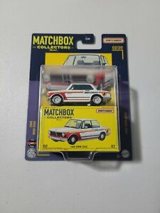 🔥 MATCHBOX COLLECTORS 1969 BMW 2002 IN WHITE #02/20 NICE 🔥