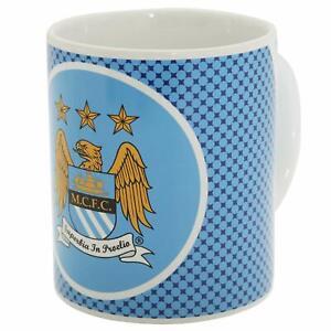 Manchester City Unisex's Bullseye Mug-Multi-Colour, 11 oz