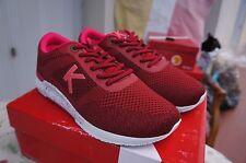 Kickers femme Knitwear Flach, Rouge (Bordeaux Fuchsia), 38 EU