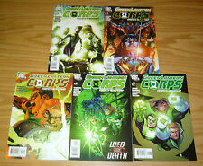 Green Lantern Corps: Recharge #1-5 VF/NM complete series - geoff johns set 2 3 4