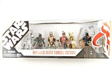 STAR WARS RARE REPUBLIC ELITE FORCES MANDALORIANS & CLONE TROOPERS PACK MISB