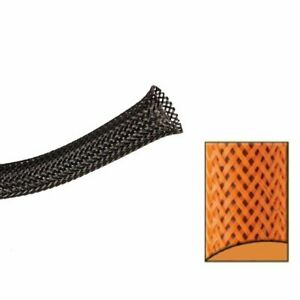 "5/8"" Orange Ultra Wrap Wire Loom - 10 Ft. Johnny Law Motors KICWFAOR0625L010"