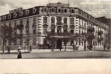 AK  Salzburg Hotel Pitter Österreich nicht gelaufen 1910