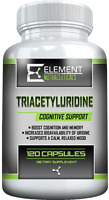 TRIACETYLURIDINE (120ct x 75mg) Cognitive Support by Element Nutraceuticals