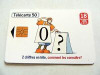 "Vintage 1996 ""Telecarte 50"" France Telecom Phone Card.."