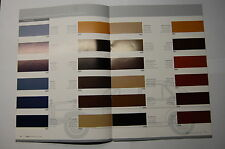 Farbkarte 1965-1986 W108 W111 W114 W115 W123 W107 W113 W100 W124 W201 W126 W116