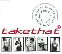 CD SINGLE Take That ‎– Could It Be Magic SEALED ROBBIE WILLIAMS GARY BARLOW