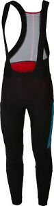 Castelli Sorpasso Men's Cycling Tight Black Blue Stripe Size Small
