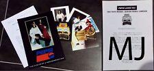 Michael Jackson Pepsi Dangerous Tour Press Kit + Japanese Letter