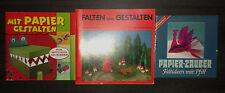 Bastelbuch Bastelzeitschrift Basteln Papier falten gestalten Pappmache Kleister