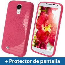 Fundas y carcasas Para Samsung Galaxy S4 de color principal rosa para teléfonos móviles y PDAs