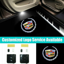 2x Cadillac Logo Car Door Welcome Lights for CTS-V Escalade DeVille DTS SRX CT6