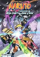 Naruto the Movie - Ninja Clash in the Land of Snow (DVD, 2007, Unedited)