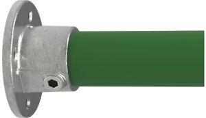 Rohrverbinder Temperguss Wandbefestigung rund  Ø 21,3 bis 60,3 mm galvanisiert